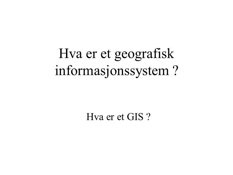 GIS for mineralutvinning Belastning: (2F+4Ø+6S) i pr uke