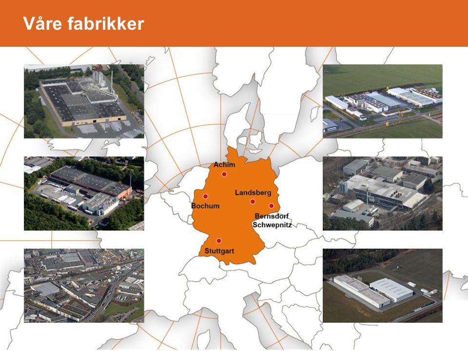 Våre fabrikker