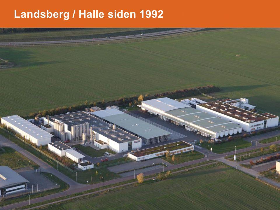 Landsberg / Halle siden 1992- in Landsberg