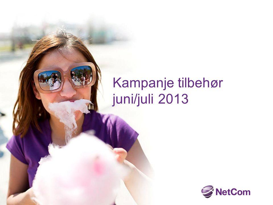 Kampanje tilbehør juni/juli 2013