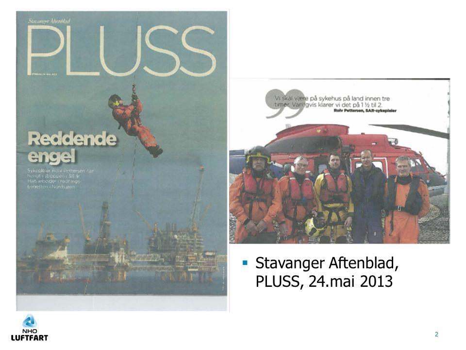  Stavanger Aftenblad, PLUSS, 24.mai 2013 2
