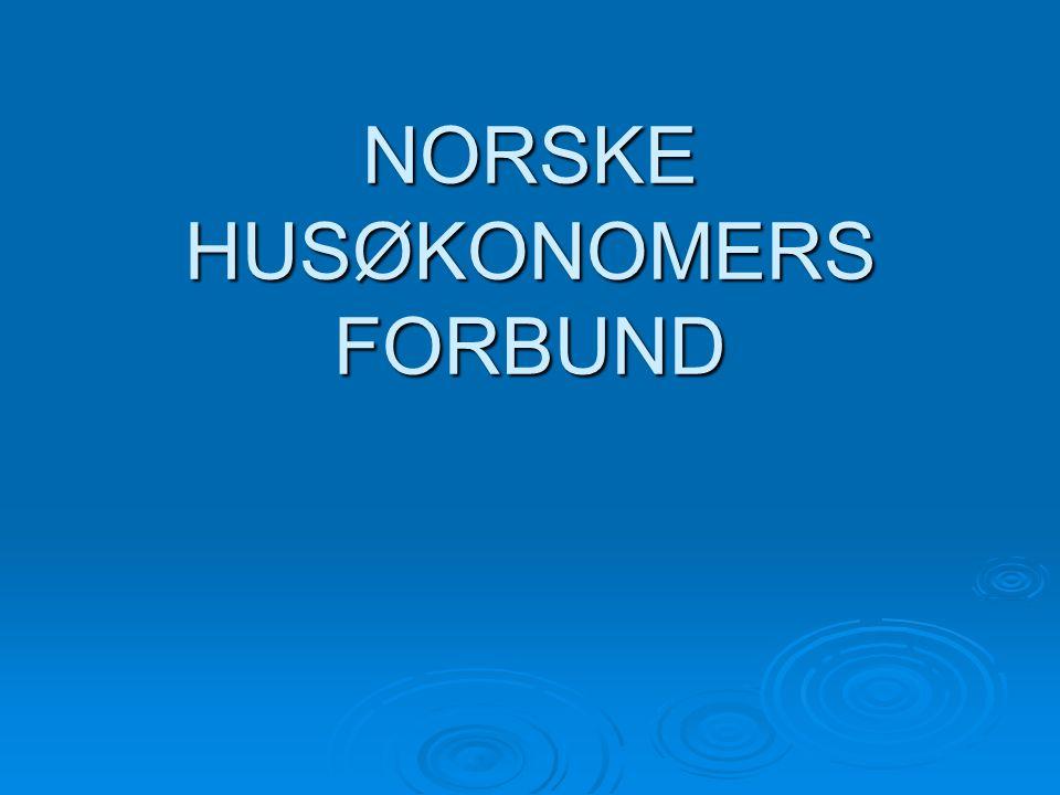 NORSKE HUSØKONOMERS FORBUND