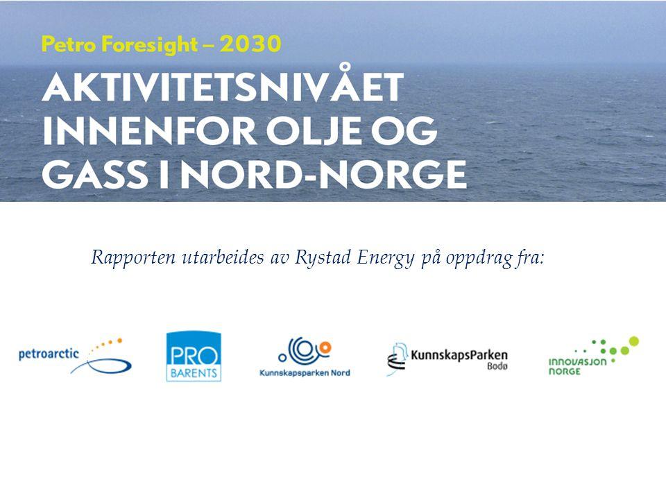 «Petro Foresight 2030» Rapporten utarbeides av Rystad Energy på oppdrag fra: