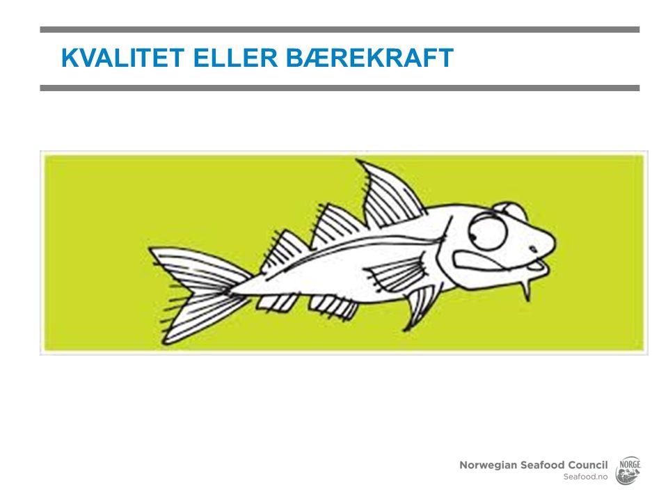 KVALITET ELLER BÆREKRAFT