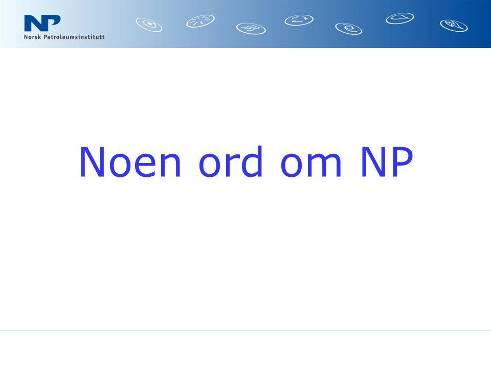 Noen ord om NP