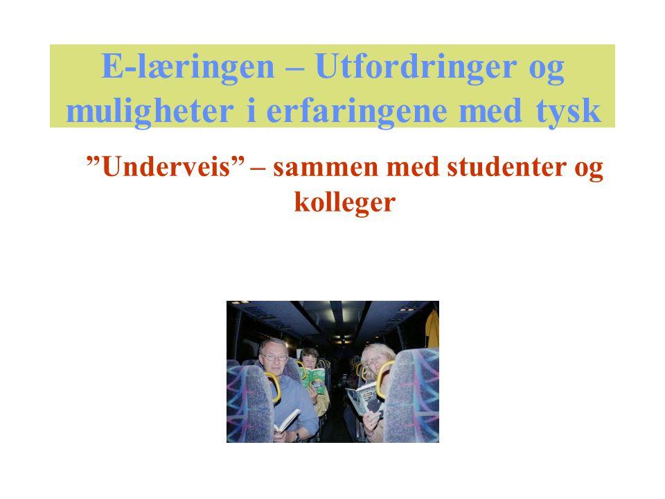 Tilbud A.: Elektroniske fjernundervisningskurs - LUVIT B.: Utenfor LUVIT - fra hjemmesiden