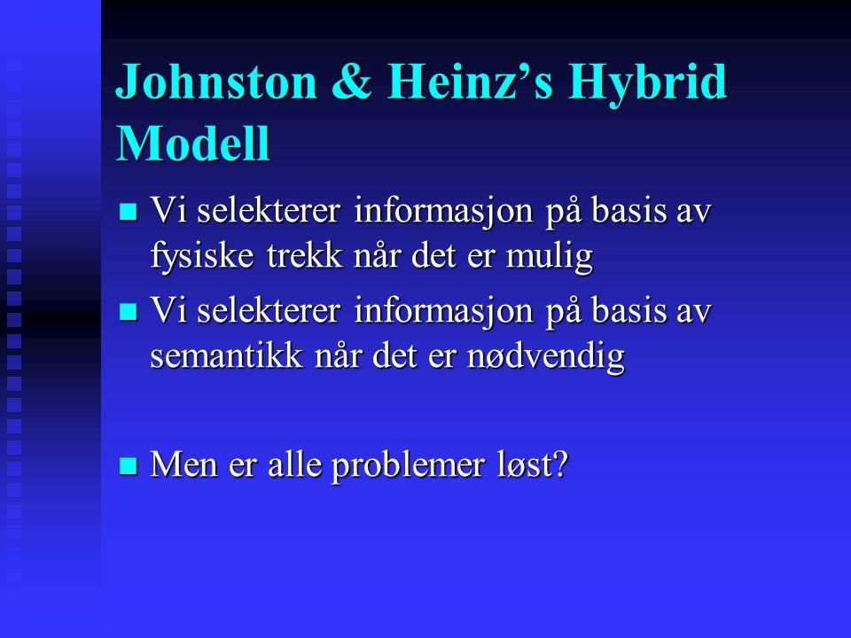 Evidence: Dual Task Evidence: Dual Task  Oppgave 1.  Oppgave 2. Oppm på dette! Bla bla bla … [forskjellig mening] … Se på skjermen. Si ifra når det