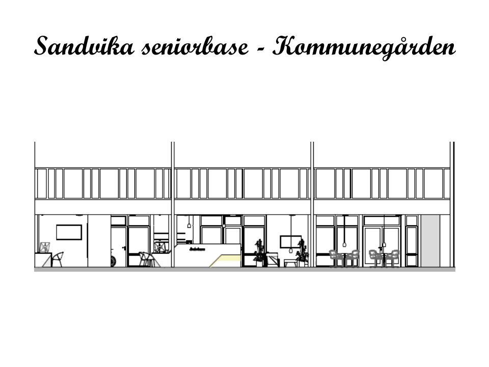 Sandvika seniorbase - Kommunegården