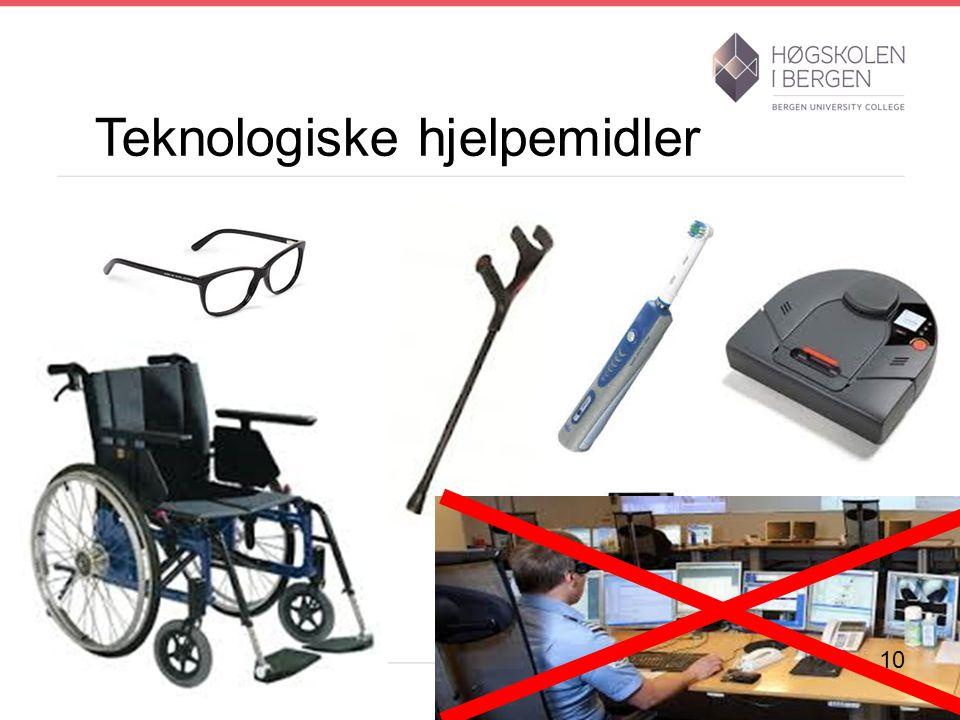 Teknologiske hjelpemidler 10