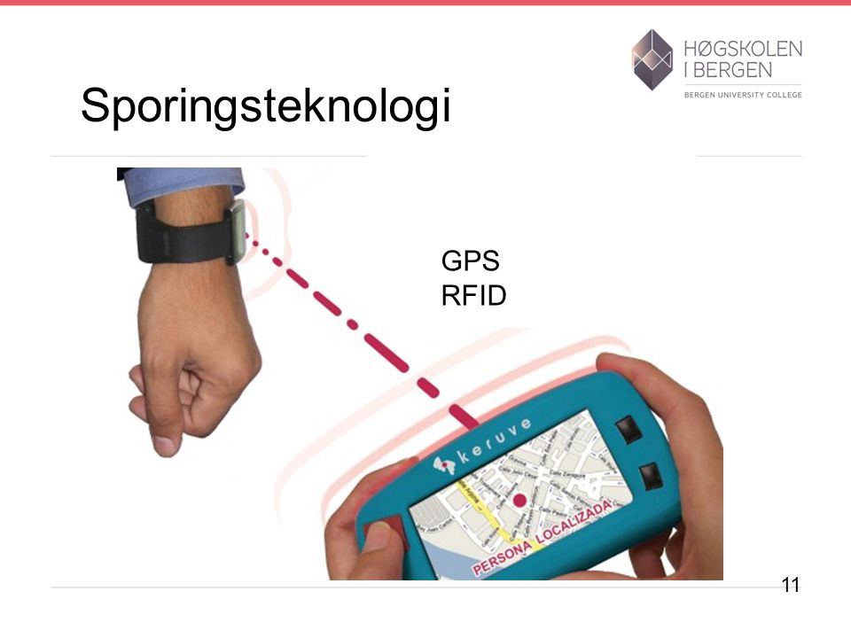 Sporingsteknologi GPS RFID 11