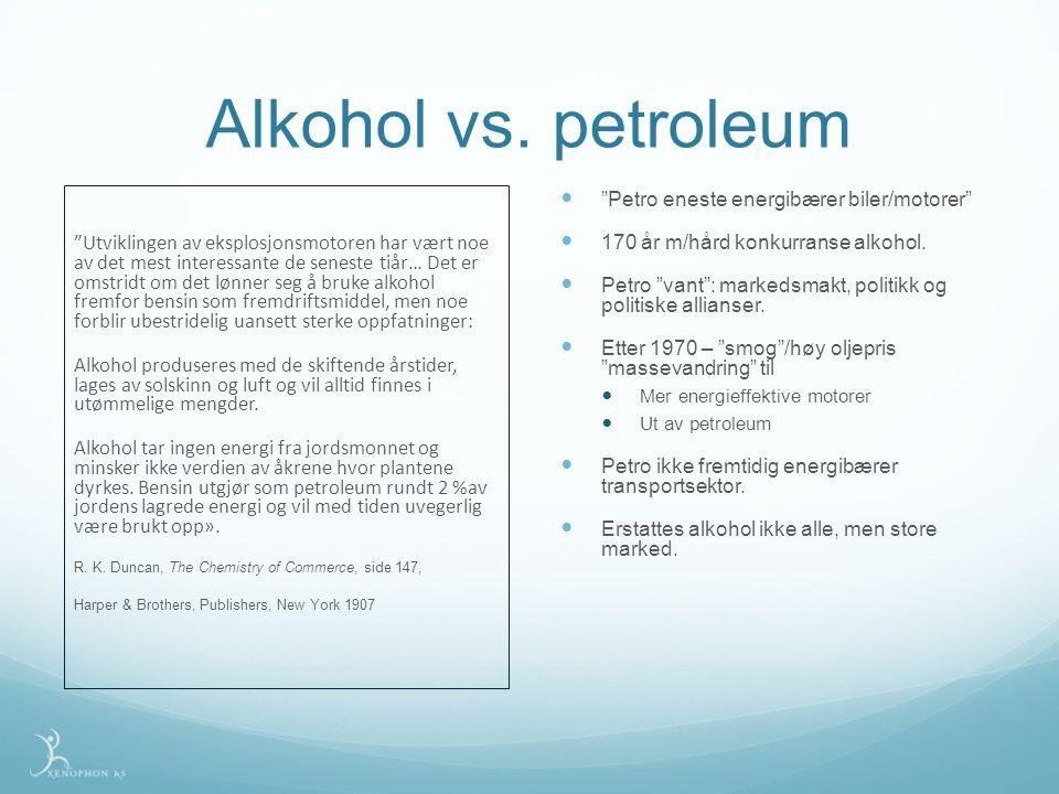 Alkohol vs.