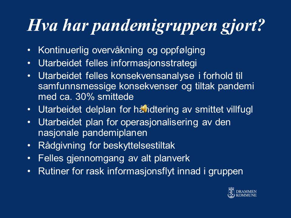 Informasjon og kommunikasjon A. Internt Kontinuerlig utveksling av informasjon pr.