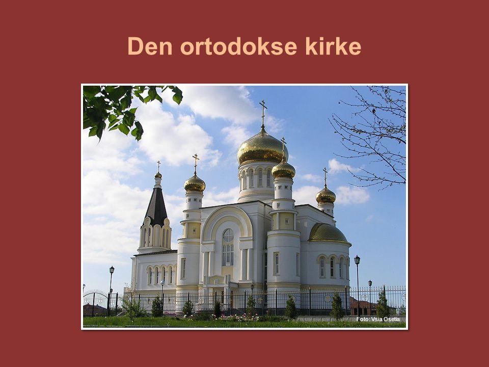 Den ortodokse kirke Den ortodokse kirke er det nest største kirkesamfunnet i verden.