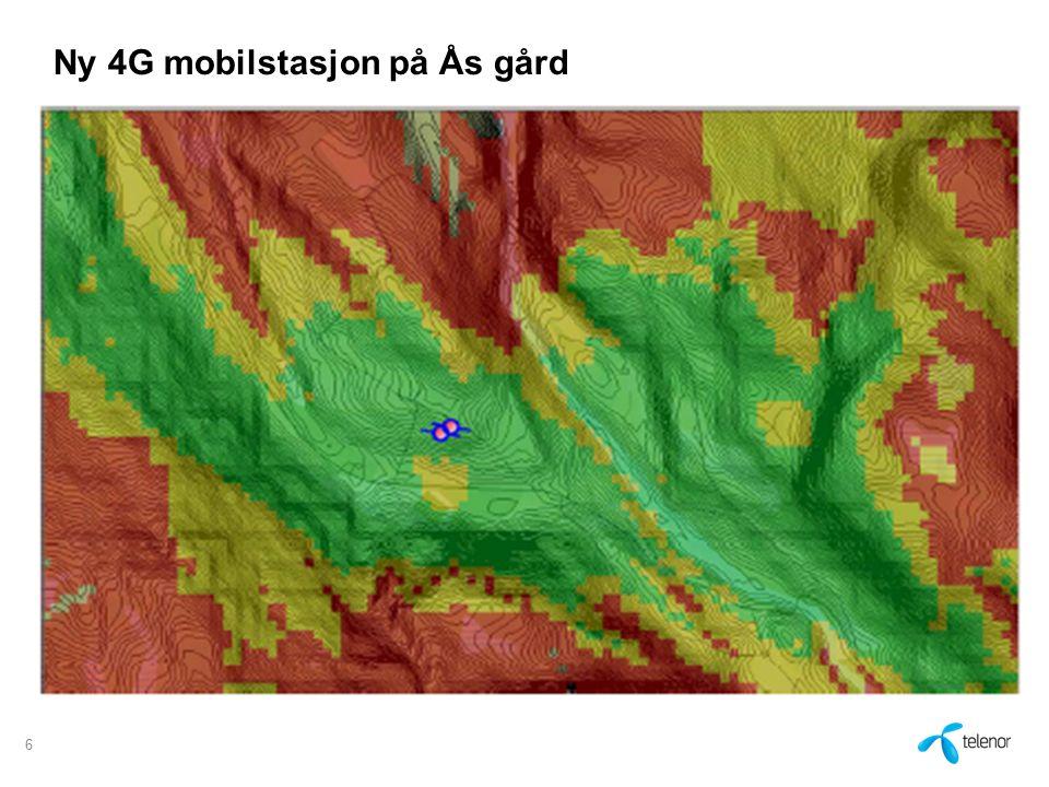 Ny 4G mobilstasjon på Ås gård 6
