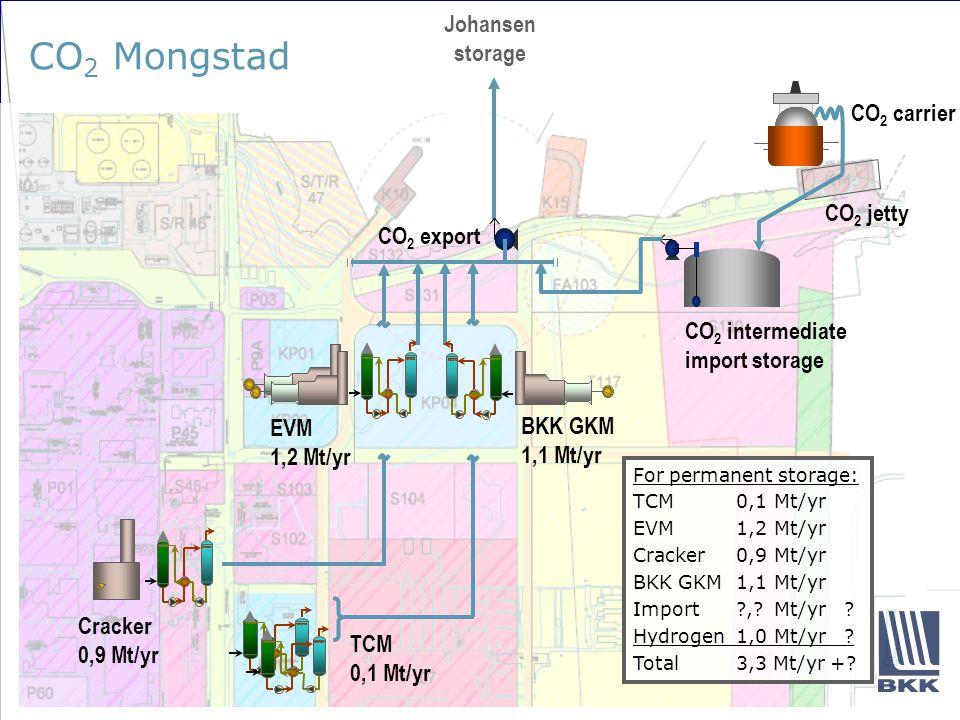 Hva må gjøres innen CO 2 -infrastruktur.
