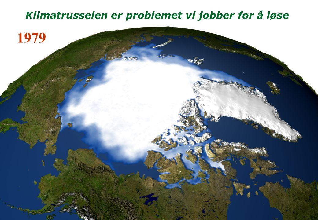 1979 Klimatrusselen er problemet vi jobber for å løse