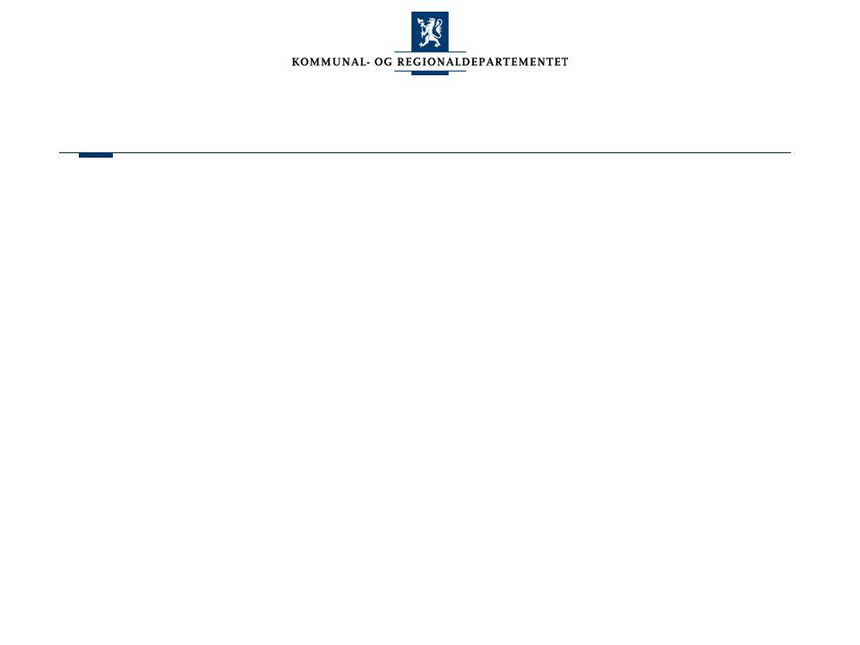 Samarbeidsprosjekt om kommunestruktur Fremtidens kommunestruktur – kommuner med ansvar for egen utvikling Samarbeidsprosjekt KS og KRD, ledet av KS Mål: Styrket lokaldemokrati gjennom mer robuste kommuner Diskusjoner og forslag fra kommunene om ulike fremtidsrettede inndelingsalternativer Oppsummeres for Stortinget våren 2006