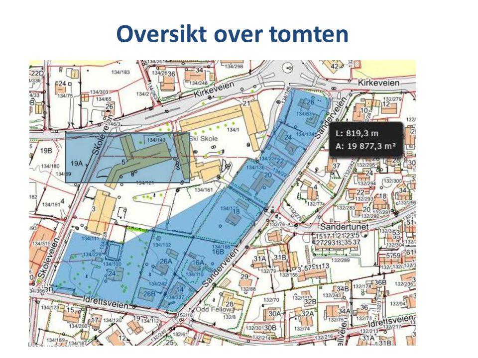 Kostnadssimulering av boligutbygging O-scenarie: 6 blokker på 6 etasjer 1.