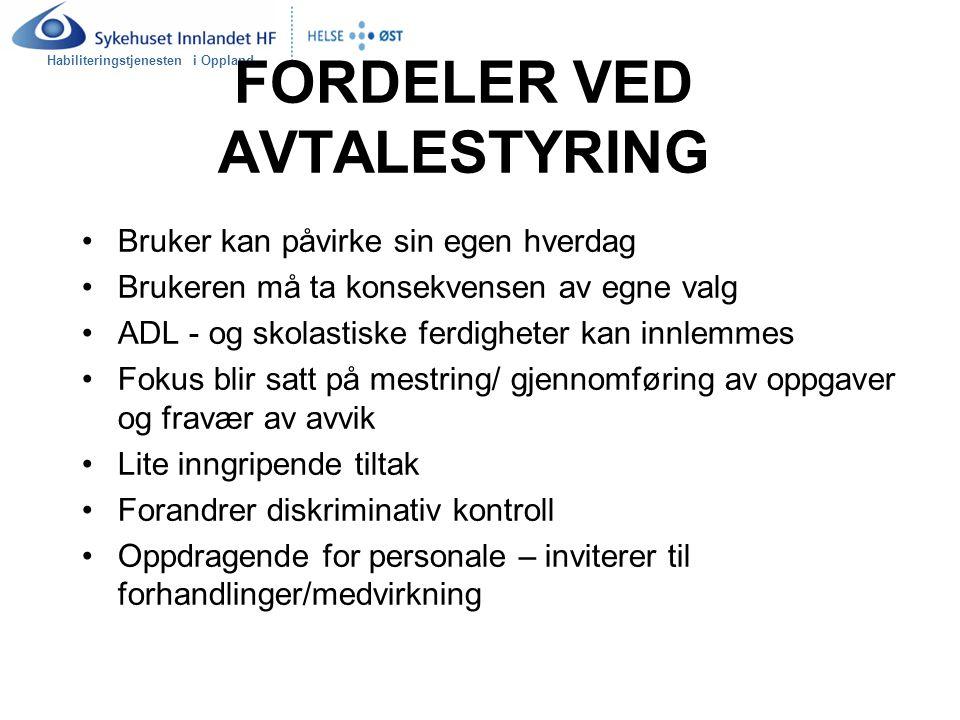 Habiliteringstjenesten i Oppland ORGANISERING AV OPPGAVER SKAL - OPPGAVER Def.; Oppgaver som er forpliktende.