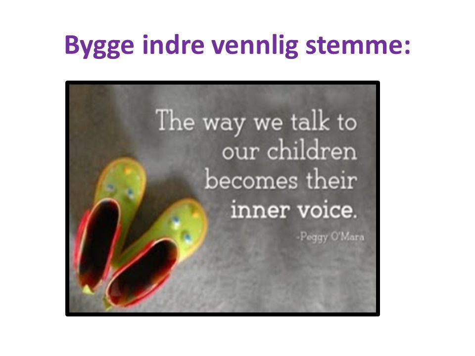 Bygge indre vennlig stemme: