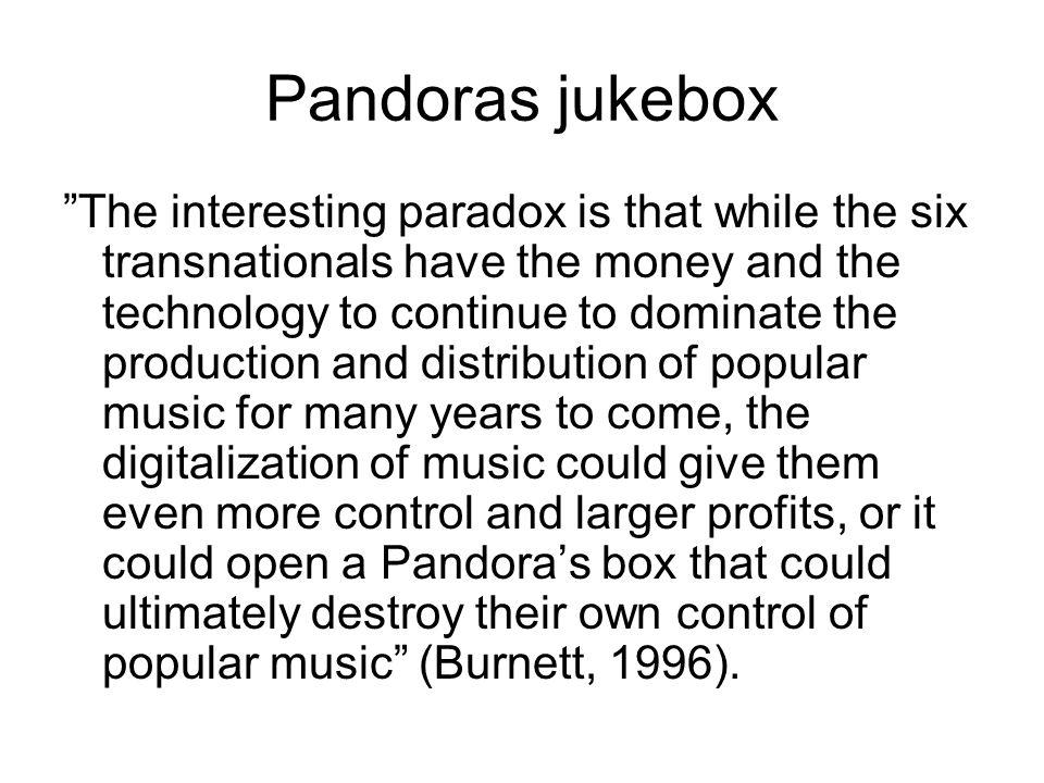 Slutten på kulturindustrien slik vi kjenner den.