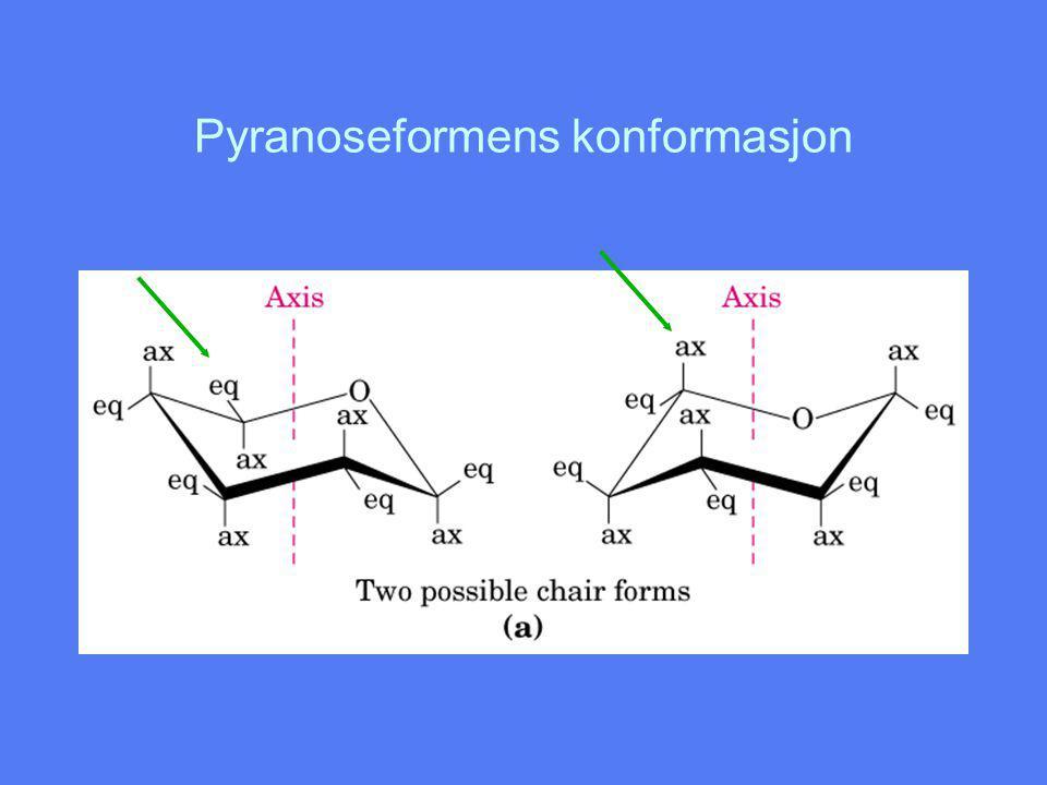 Pyranoseformens konformasjon
