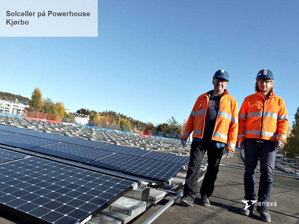 Solceller på Powerhouse Kjørbo