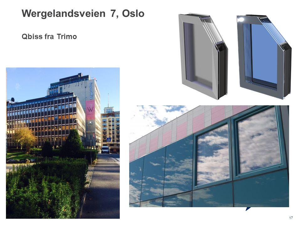 Wergelandsveien 7, Oslo Qbiss fra Trimo 17