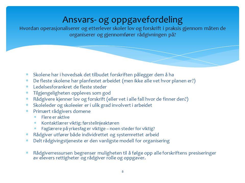 9 Mellom individ og system: En ny rådgiverrolle.