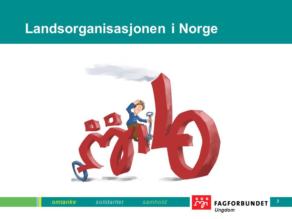 omtanke solidaritet samhold Ungdom 3 Landsorganisasjonen i Norge