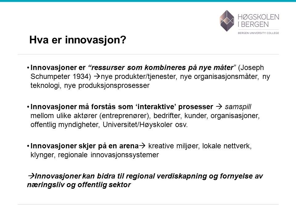 Hva er innovasjon.
