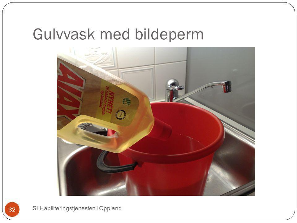 Gulvvask med bildeperm SI Habiliteringstjenesten i Oppland 32