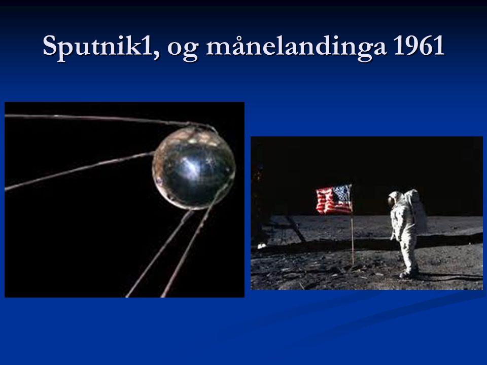 Sputnik1, og månelandinga 1961