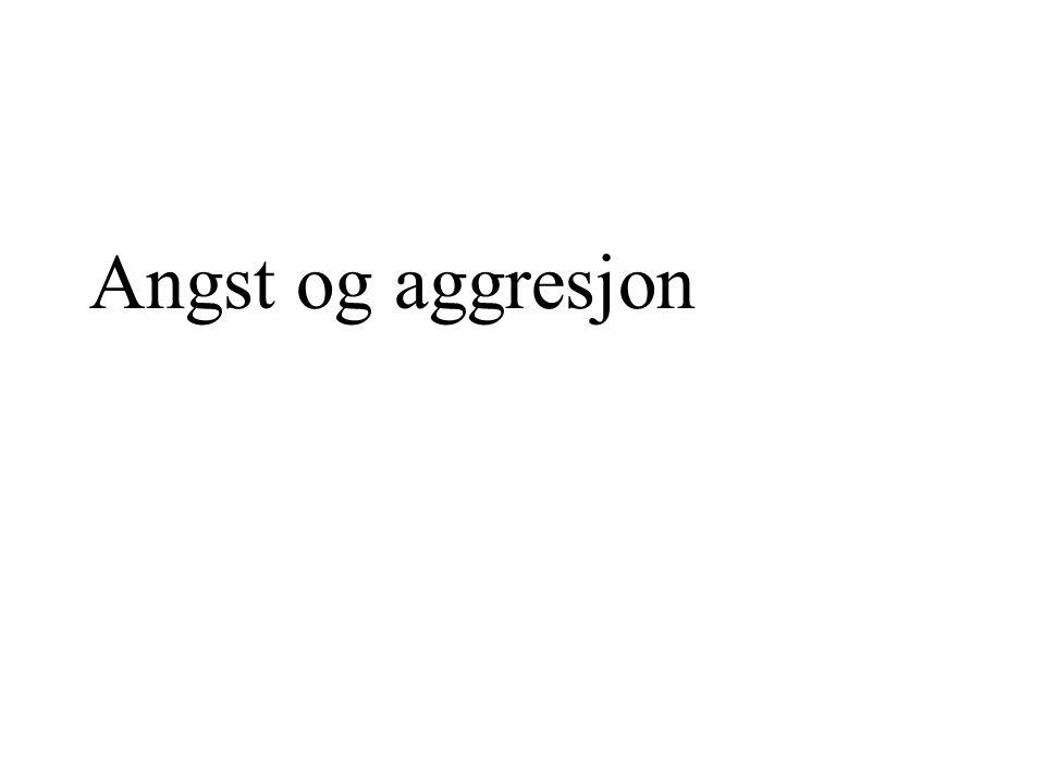 Angst og aggresjon