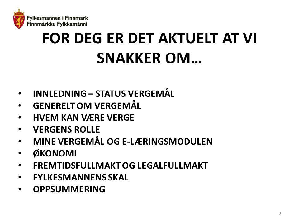 33 Eksempel på forenklet fremtidsfullmakt: Fremtidsfullmakt Båtsfjord, 29.