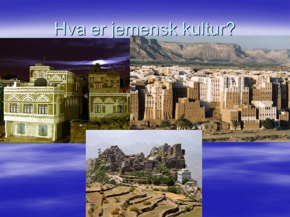 Hva er jemensk kultur? 