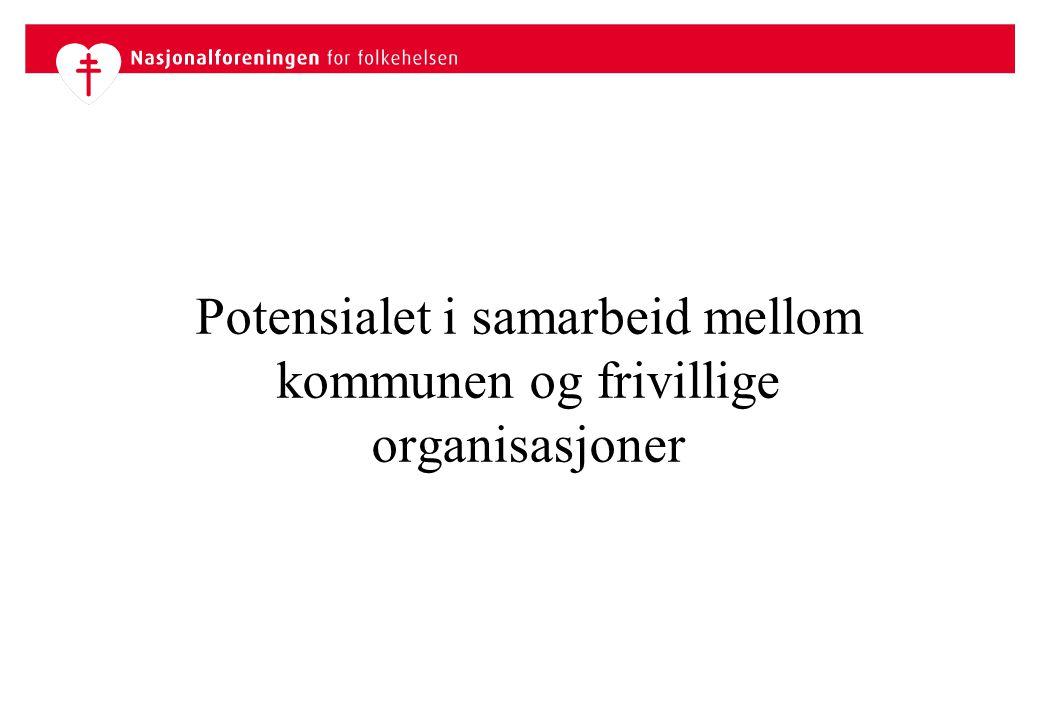 Potensialet i samarbeid mellom kommunen og frivillige organisasjoner