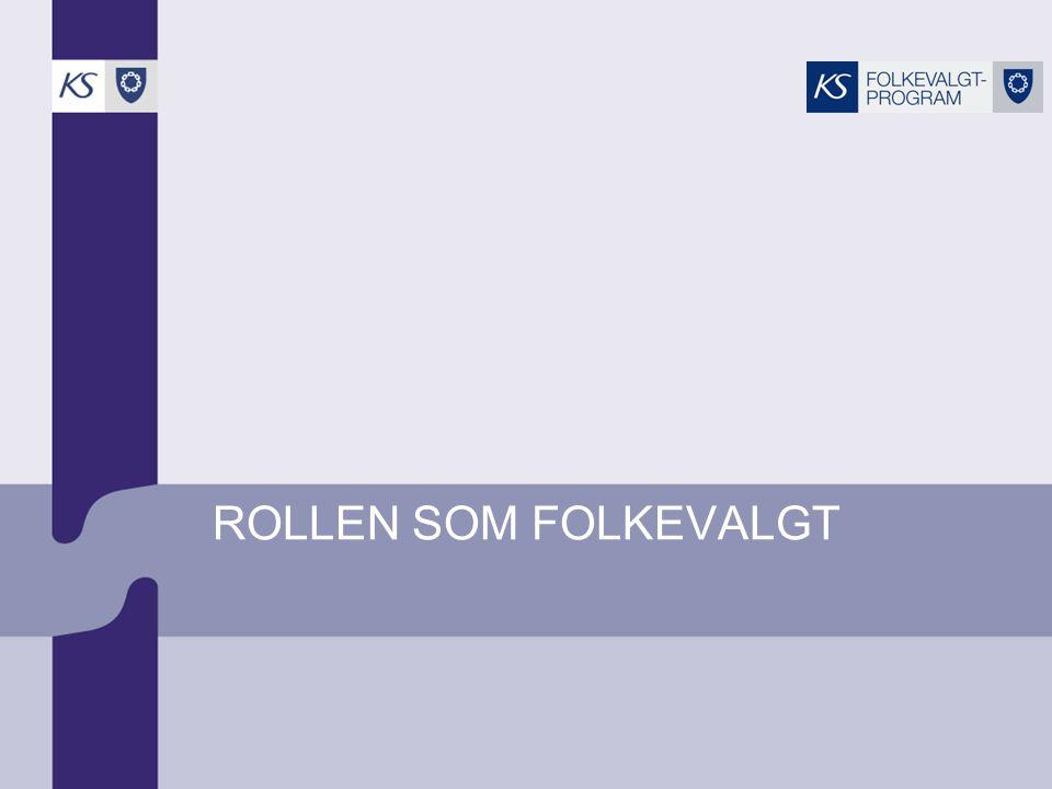ROLLEN SOM FOLKEVALGT