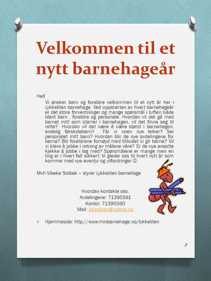 Overgang barnehage – skole Ålesund kommune har utarbeidet en egen prosedyre for overgangen mellom barnehage og skole.