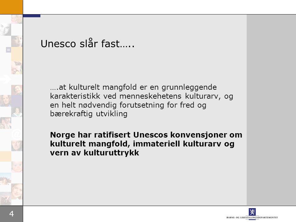 4 Unesco slår fast…..