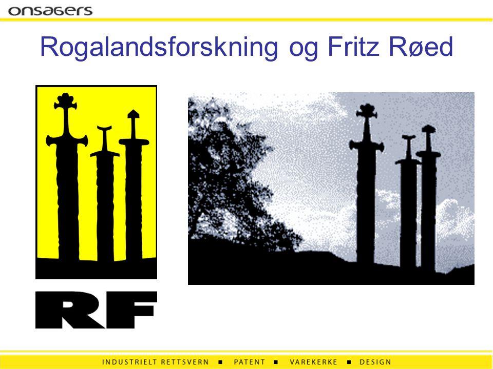 Rogalandsforskning og Fritz Røed