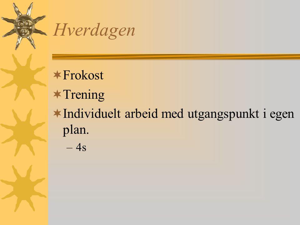 Inntak  Koordinert av Sosial- og psykiatritjenesten  Skal ha individuell plan og egen bolig.