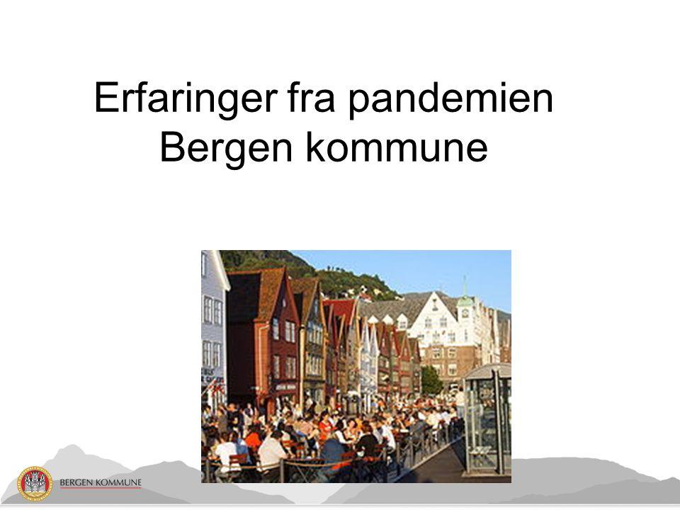 Erfaringer fra pandemien Bergen kommune