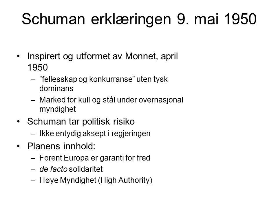 Schuman erklæringen 9.