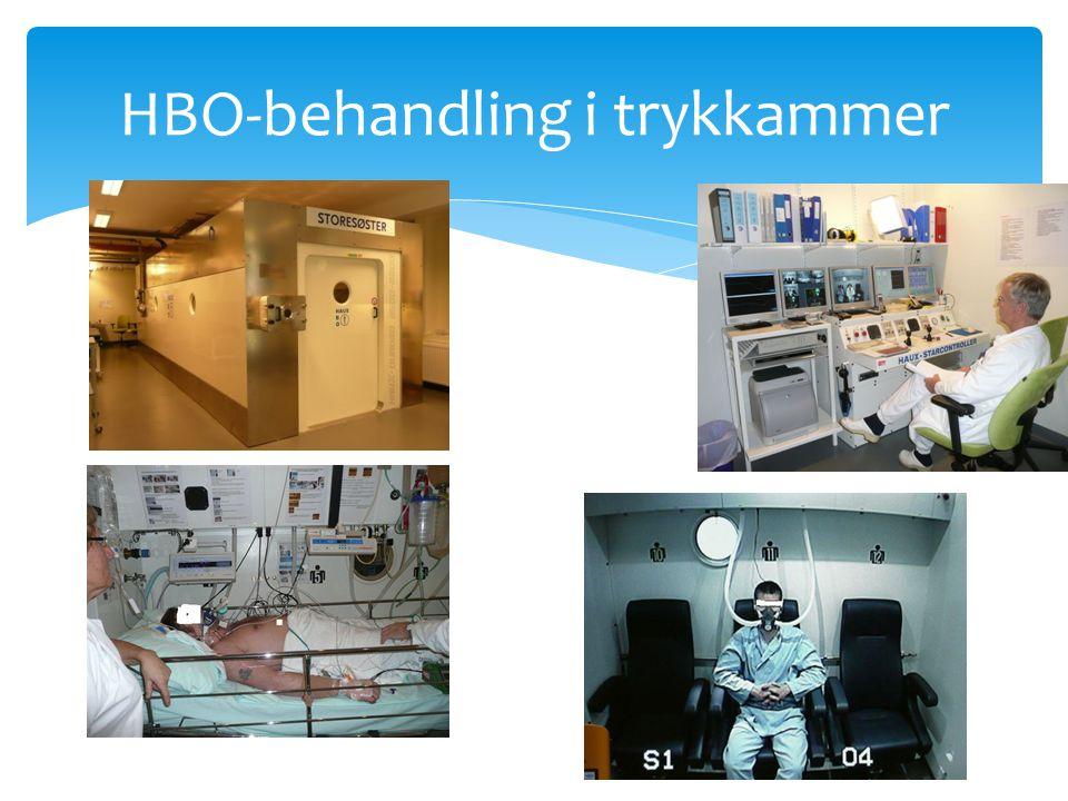 HBO-behandling i trykkammer