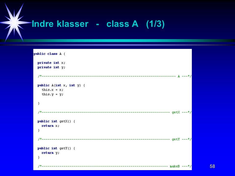 58 Indre klasser - class A (1/3)