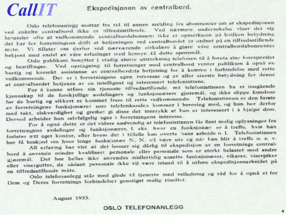 CallIT presentasjon2009 5