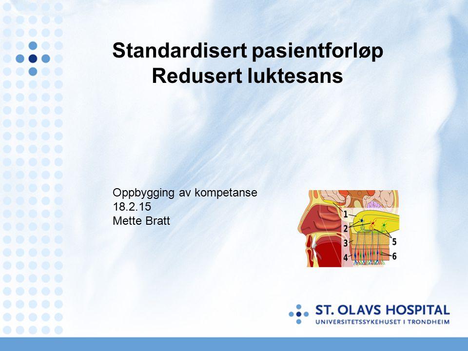 Presentasjonens innhold Anatomi Rutiner ved ØNH St Olav Forskning ved ØNH St Olav