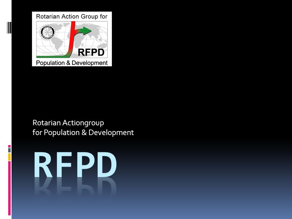Rotarian Actiongroup for Population & Development