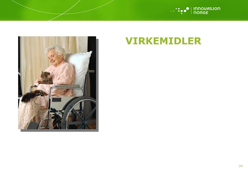 VIRKEMIDLER 24
